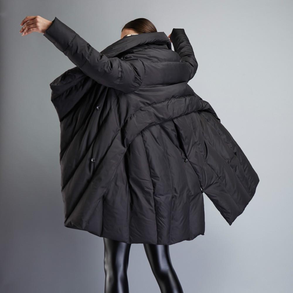 Женская зимняя куртка Темперамент Модный Плащ свободная парка пуховое пальто теплое пальто Материнство парка Беременность Одежда