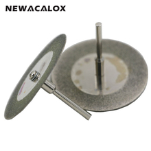 NEWACALOX 16-50mm Mini Abrasive Disc Dremel Tools Wheels Cutting Disc Buffs Set Diamond Jewelry Gemstone Sanding Buffing Micro