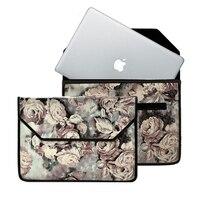 Handmade Custom Chinese Sytle Sleeve Bag Case For Macbook Pro 13 3 15 4 Retina Shock