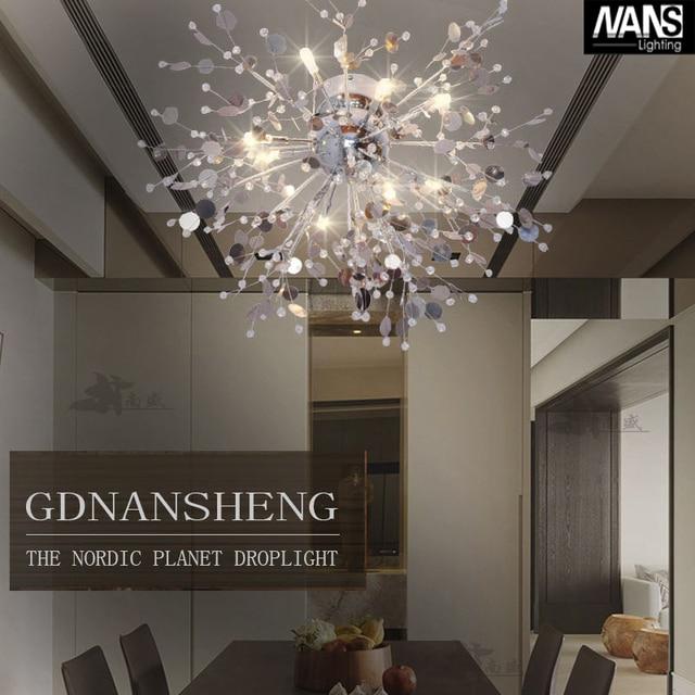 Modern Crystal Chandelier Living Room lustres de cristal