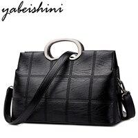YABEISHINI Women PU Leather Bag Designer Handbags High Quality Women Messenger Bags Sac A Main Shoulder Bags Female Pochette