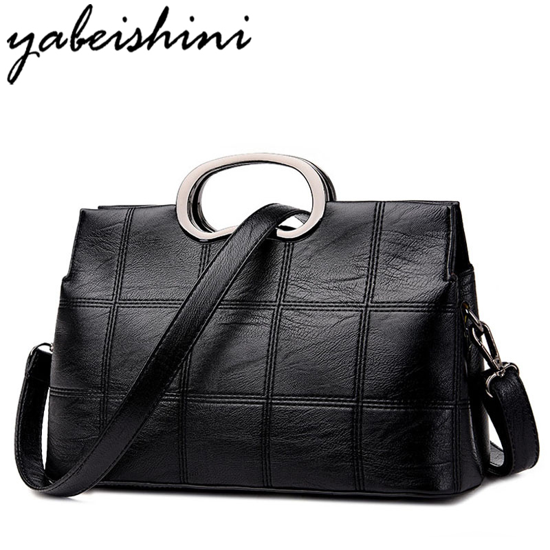 YABEISHINI Women PU Leather Bag Designer Handbags High Quality Women Messenger Bags Sac A Main Shoulder Bags Female Pochette kzni genuine leather handbag women designer handbags high quality phone bag purses and handbags pochette sac a main femme 9022