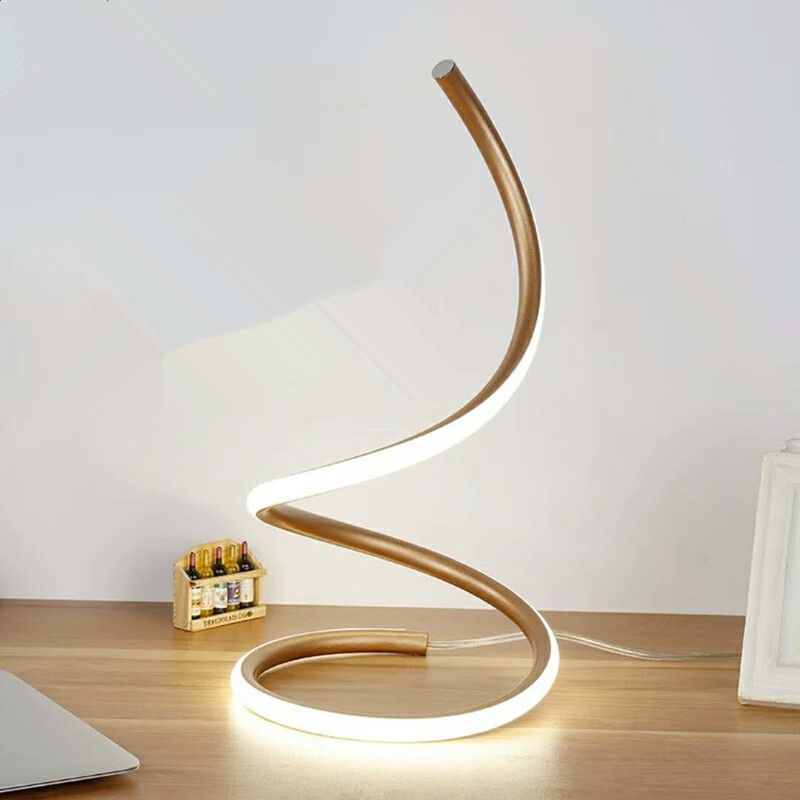 Creative Modern LED Table Lamp Art Decoration Simple Desk Table Light Bedroom Bedside Lamp For Bedroom Living Room Study цена