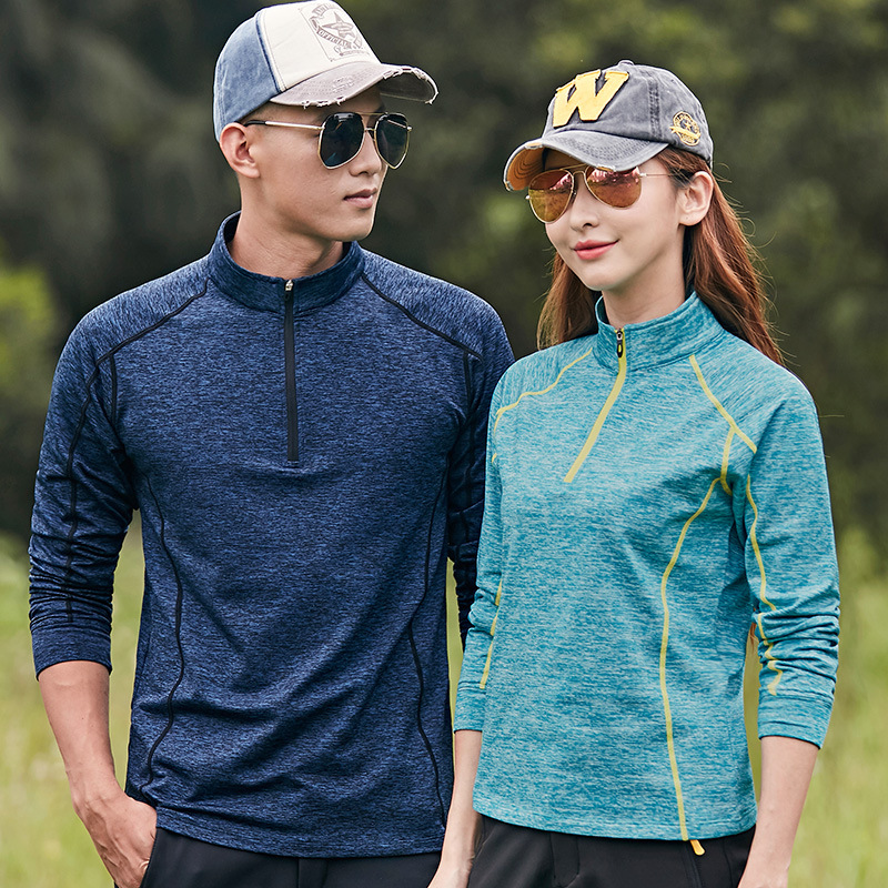 2019 Trekking Shirt Women Men Anti Dirty Mountaineering Clothes Summer Autumn T-shirt M-6XL Tops&Tees Quick Drying Hiking Shirt