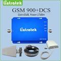 Amplificador de sinal gsm impulsionador 900 1800 mhz GSM DCS dual band repetidor de sinal celular sinais impulsionador repetidor com completa conjunto