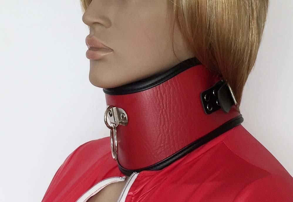 Aliexpresscom  Buy Female Soft Red Leather Posture -2872