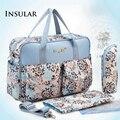 New Free Shipping Baby Diaper Bag Waterproof Bag Print Nylon Bag Hawaii Dandelion Prints Pretty Baby Care Bag Mothers Tote Bag