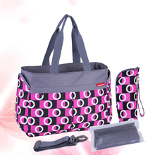 Multicolored Mother Diaper Bag