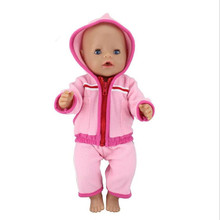 Born New Baby Doll Clothes Fit 17 inch 43cm Doll One-piece garment Owl Little White Rabbit Nightgown  Accessories For Baby Gift maxcity baby little rabbit