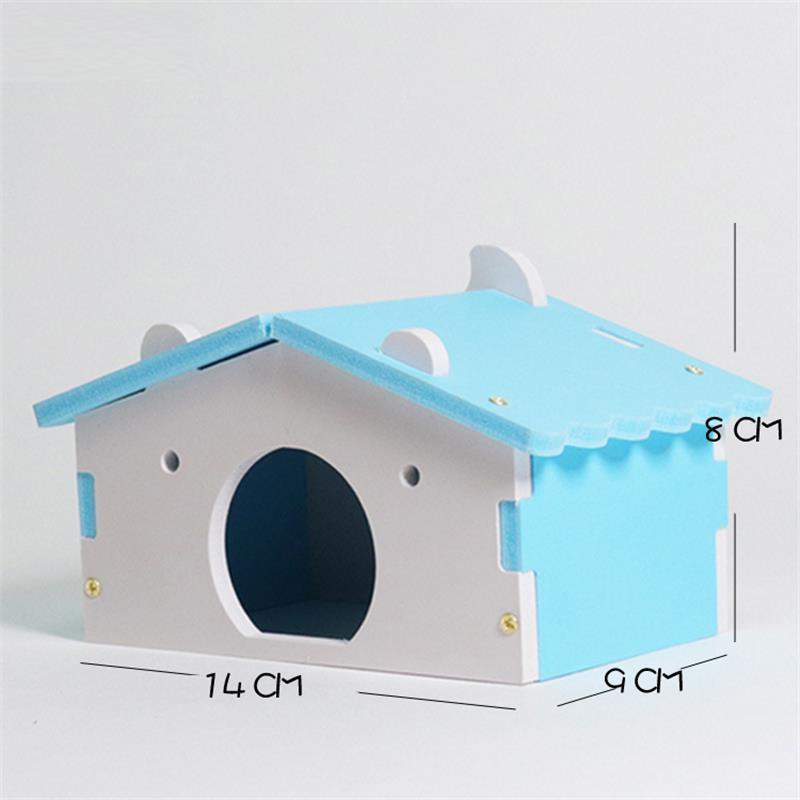 New Style Cute Small Pet Hamster House Ecological Small Anim