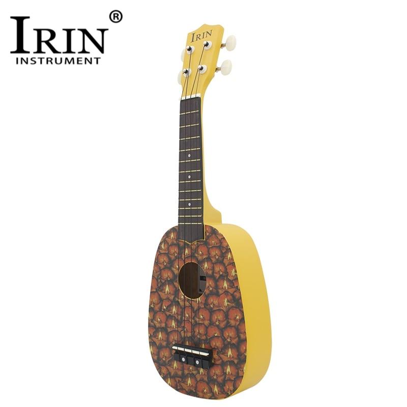 IRIN 21 Ukelele Rosewood Body Fretboard 4 Strings Guitar Lovely Pineapple Stringed Musical Instrument Ukulele For Beginner