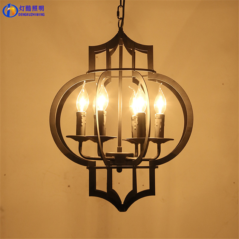 hotel engineering industrial style restoring ancient ways lanterns candle chandelier lamp sitting room cafe restaurant europe type restoring ancient ways the flag of non woven fabrics do old sitting room the bedroom tv setting wall paper sweet