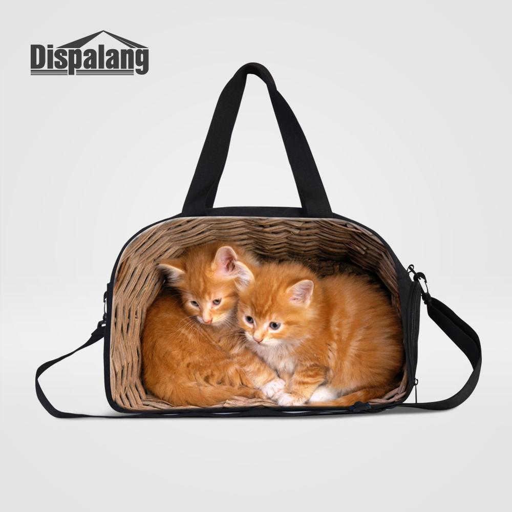 JTRVW Luggage Bags for Travel Portable Luggage Duffel Bag Love is A Four Legged Word Dogs Cats Travel Bags Carry-on in Trolley Handle