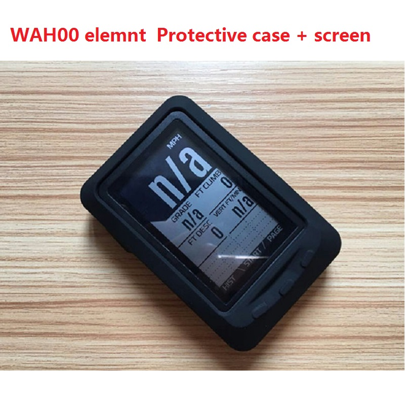 <font><b>Bike</b></font> <font><b>Computer</b></font> <font><b>Gps</b></font> Bicycle Stopwatch Protective Case For Wa hoo Elemnt Protective Sleeve Free Screen Protective Film image