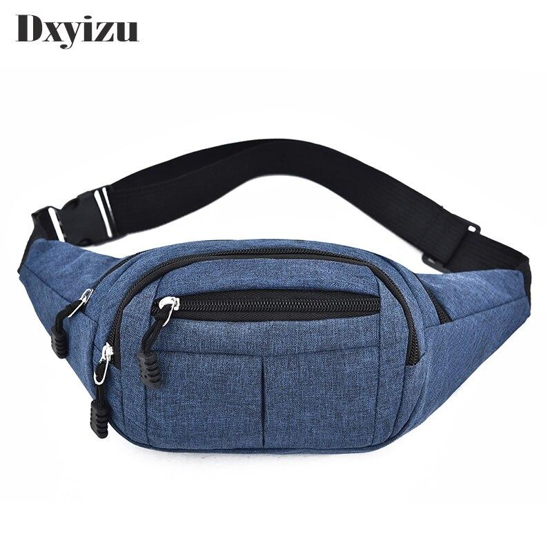 df5bdeea96d Women Men Waist Bag Ladies Designer High Quality Oxford Pack Fashion Solid  Leisure Phone Unisex Chest Bag Bum Belt Bags Handbag