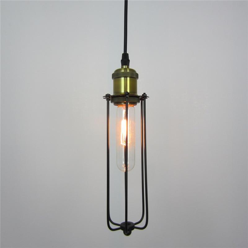 Loft Vintage Industrial Pendant Lamp Edison Light E27 Holder Iron Pendant Light forRestaurant Bar Counter Attic Bookstore