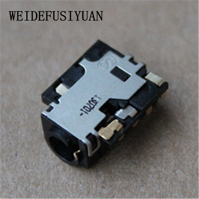 US $6 0 |Laptop Headphone MIC jack socket connector Audio jack for Dell XPS  12 9Q23 9Q33 -in Computer Cables & Connectors from Computer & Office on