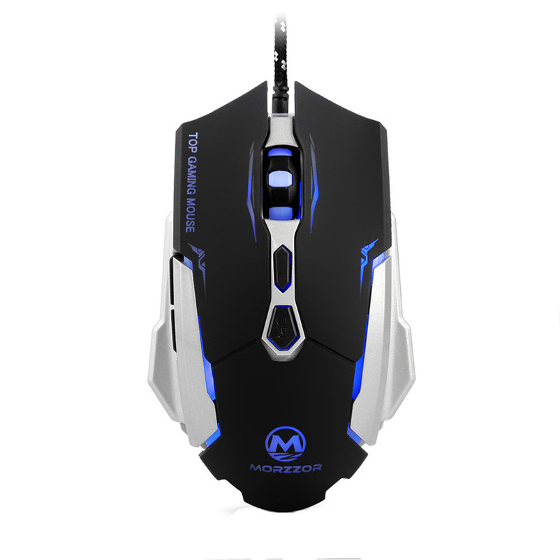 2400DPI 7D Buttons LED Optical Wired Gaming Mouse Mice For PC Laptop A7