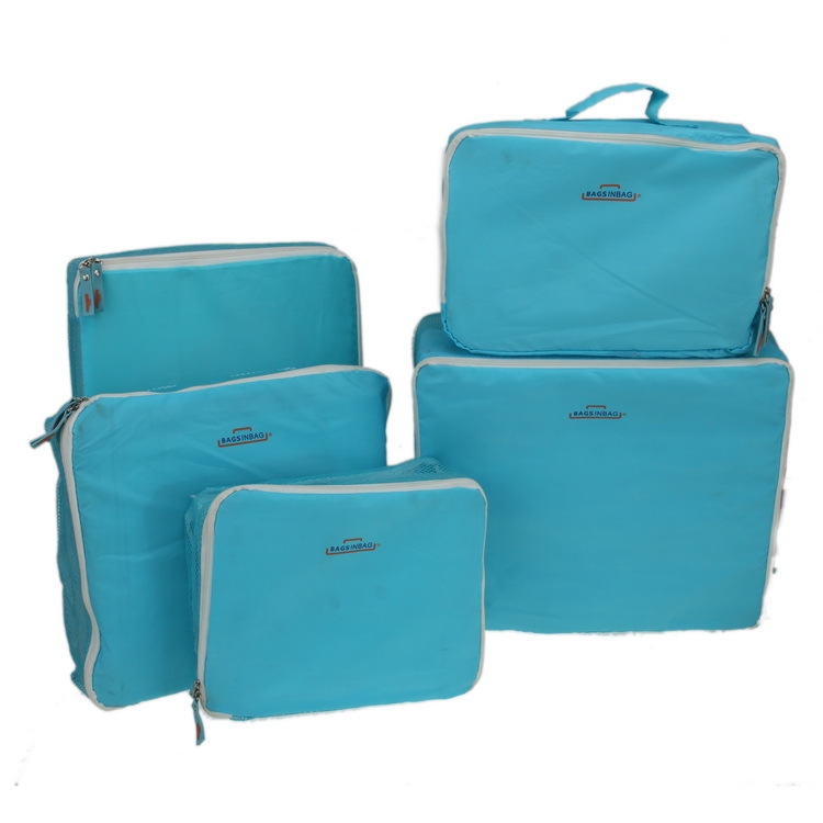 5 unids/set neceser de viaje organizador de escritorio da maquiagem bolso viaje bolsa de almacenamiento BRA ropa interior clasificación neceser