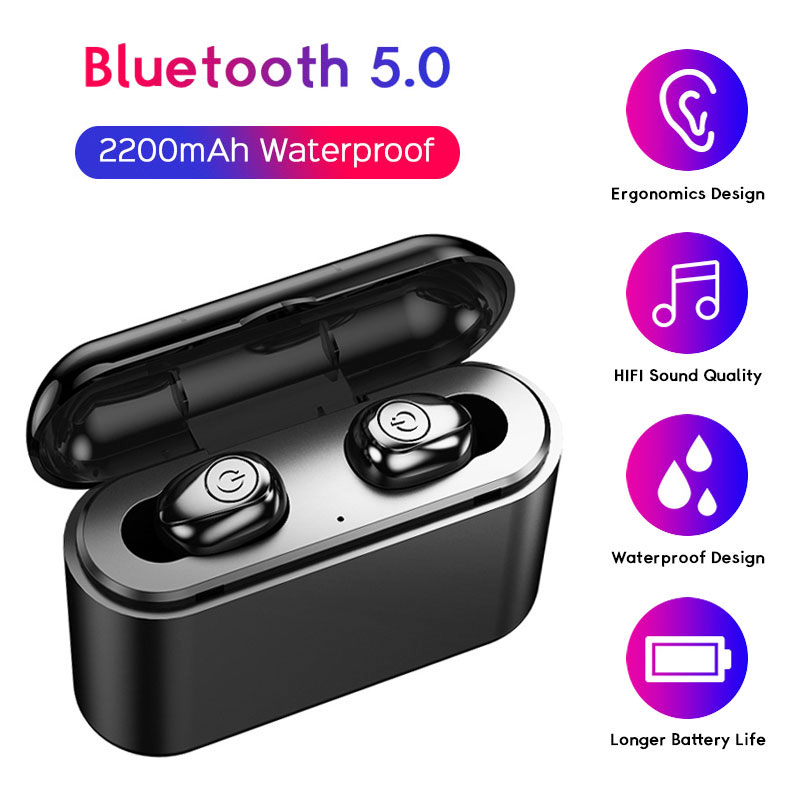 <font><b>Bluetooth</b></font> <font><b>Earphone</b></font> Wireless <font><b>TWS</b></font> <font><b>X8</b></font> Earbuds <font><b>Bluetooth</b></font> <font><b>Earphones</b></font> Waterproof 2200mAh With Microphone Headset for Xiaomi <font><b>Earphone</b></font> image