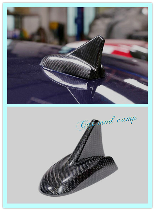 For Maserati Ghibli 2014-2016 Quattroporte 2013-2016 Levante 2016-2017 Carbon fiber Shark Fin Antenna Cover decoration trim