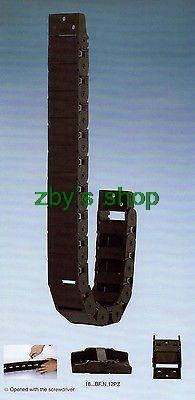 Ketten Zielsetzung 1000 Mm 18x37mm Kabelschlepp Radius 38mm/48mm/75mm Drahtträger Und Steckverbinder