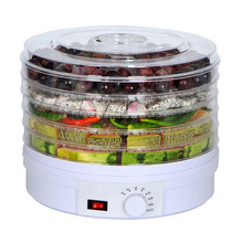 Food Dehydrator Fruit Vegetable Herb Meat Drying Machine Snacks food Dryer with 5 trays EU/UK/US Plug 110V/220V 5 layers food dehydrator machine professional electric multi tier food preserver beef jerky maker fruit vegetable dry 220v