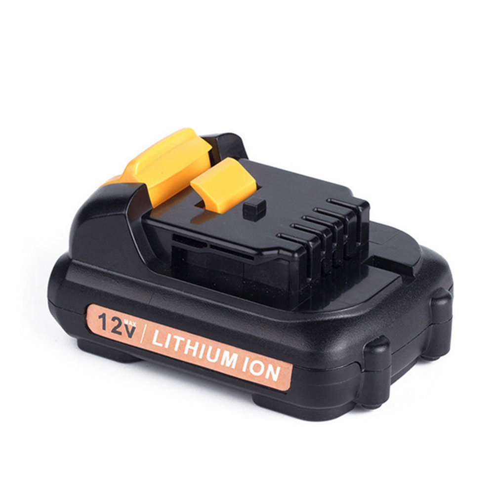 12v 2000 mAh Lithim-Ion Replacement  Power Tools Battery for Dewalt Max DCB120 DCB121 DCB127
