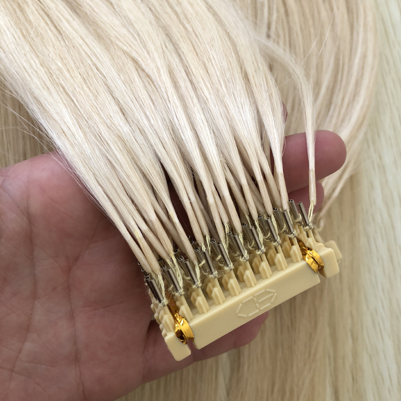 2018 New Arrival 6D Hair Extension Double Drawn Remy Human Hair 6D Extensions 50G