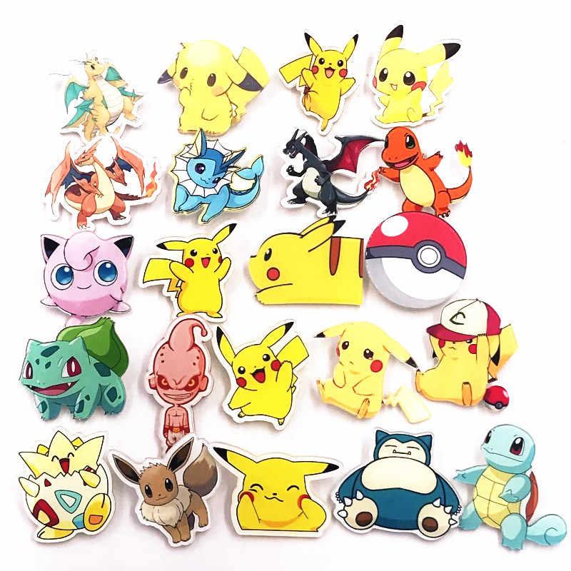 1 Pcs Baru Akrilik Lucu Vaporeon Bros Anime Ikon Pokemon Kualitas Tinggi Lencana untuk Dekorasi Di Pakaian Topi Tas syal