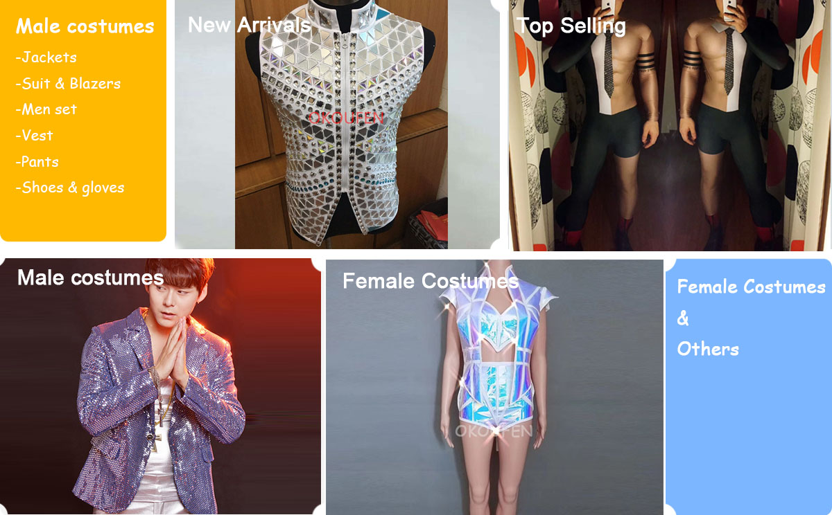 d48115f9d5f7 Performer Costumes Store - Small Orders Online Store, Hot Selling and more  on Aliexpress.com