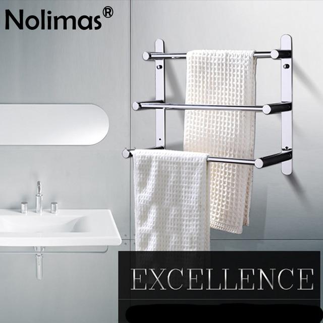 modern towel rack. Brief 2018 SUS 304 Stainless Steel Surface Three Layers Bathroom Towel Rack Round Modern Bar O