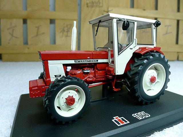 Francia Replicagri 1:32 Case IH 1046 (REP079) fina aleación de modelos de Aleación modelo de vehículo agrícola tractor rojo