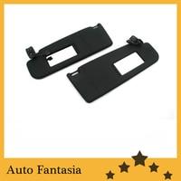 실내 지붕 라이너 sun visor (black) for Volkswagen golf mk5-Free 배송