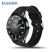 Diggro DI01 Smart Uhr 1 GB + 16 GB Android 5.1 MTK6580 Pulsmesser Unterstützung Wifi 3G GPS SIM karte Kamera Business Smartwatch