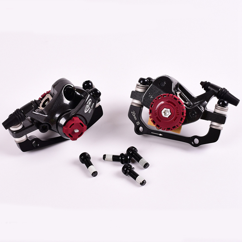 OUMIAO Bicycle parts brake AVID BB7 MTB Mountain Bike Brakes Disc Mechanical Compasses Bicycle Bike Parts 1 Pair / 2 pcs 1 8 big foot tire hsp big tire diameter 150mm rc car 1 8 17mm wheel rims hex hub 4pcs