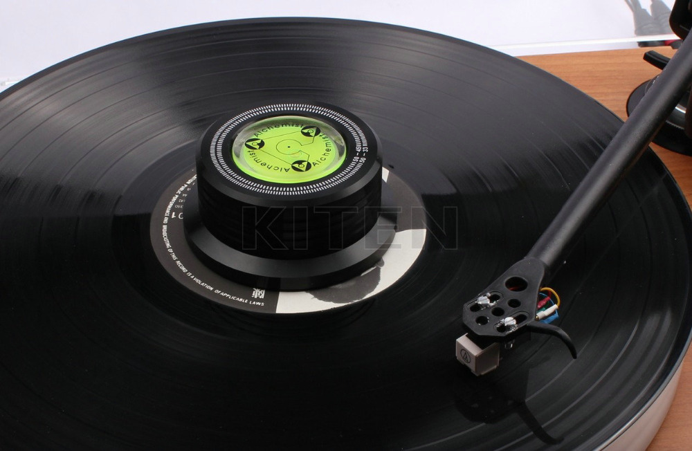 free shipping 3 in 1 record clamp lp disc stabilizer turntable for