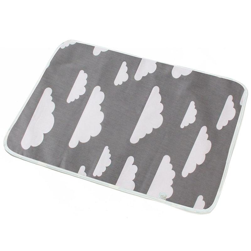 Baby Diaper Changing mat Infants Portable Foldable Washable Waterproof Mattress travel pad floor mats cushion reusable