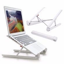 Folding Tragbaren Laptop Stand Zwei Höhen Einstellbare Desktop Erhöhen Notebook Cooling Halter für MacBook 11-15,6 inch