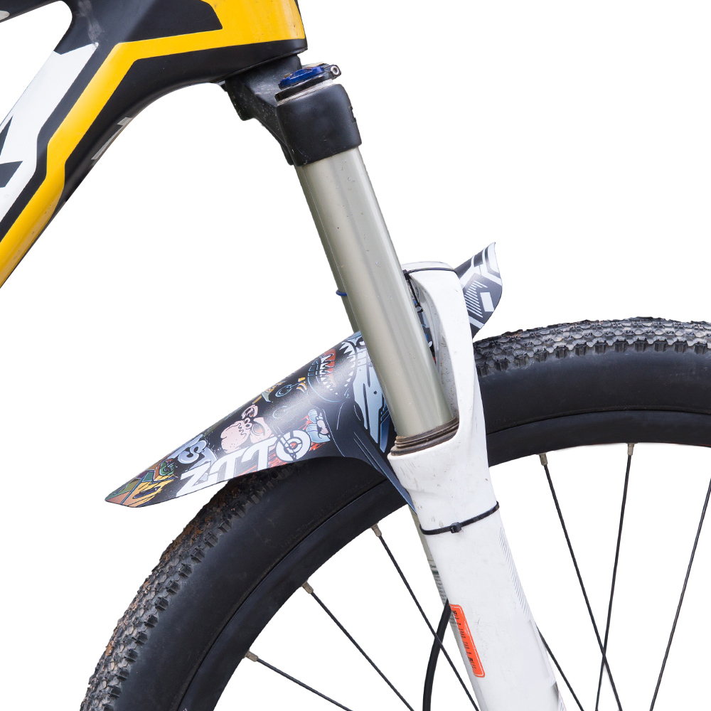 37794d94671 Mountain Bike Fenders MTB Bicycle Front Rear Mudguard Bicycle Parts  Accessories Nylon Tie Bike Cycling Fenders-in fenders from Sports &  Entertainment on ...