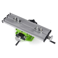 LY 6300 Miniature Precision Multifunction Milling Machine Bench Drill Vise Fixture Worktable X Yaxis Adjustment Coordinate