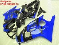الزرقاء fairings لهوندا cbr 600 f3 1998 1997*97 98 (تخصيص شارات هنا) cbr600 كيت xl75