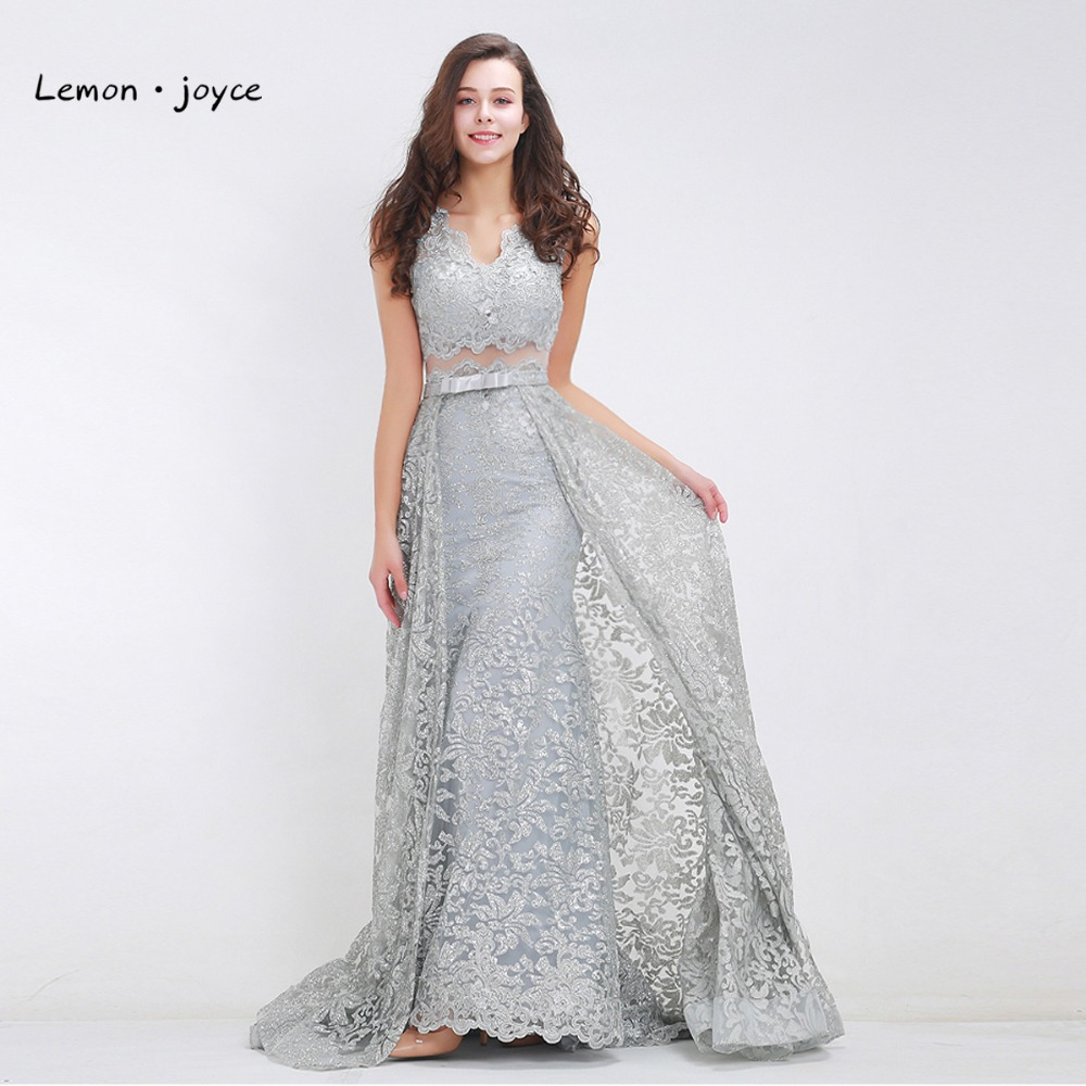 Елегантні сірі вечірні сукні 2017 Новий - Плаття для особливих випадків
