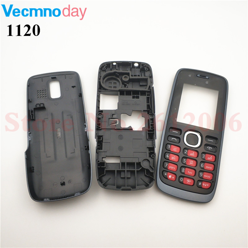 Vecmnoday Housing Case For Nokia 112 N112 1120 Full Complete Mobile Phone Housing Battery Cover Door Frame With KeyboardVecmnoday Housing Case For Nokia 112 N112 1120 Full Complete Mobile Phone Housing Battery Cover Door Frame With Keyboard