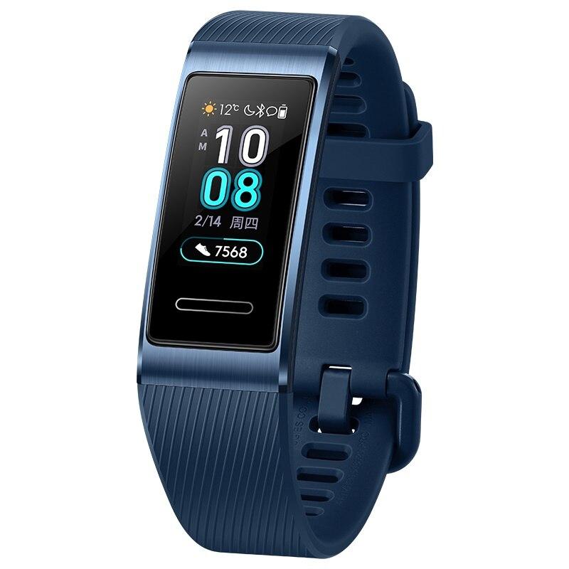 Original Huawei Band 3 Pro Smartband GPS métal cadre Amoled écran couleur écran tactile nage course capteur de fréquence cardiaque sommeil - 2