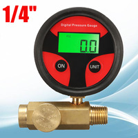 1/4 200PSI Air Pressure Regulator Gauge Control Regulating For Any Spray Gun.
