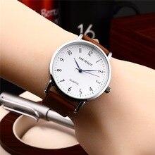 Женские Роскошные творческих часы женские повседневные часы кожа дамы платье кварцевые наручные женские часы