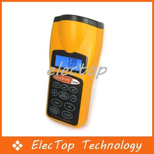 Ultrasonic Laser Distance Measurer Range Finder Device Meter Tool 60FT 10pcs/lot Wholesale