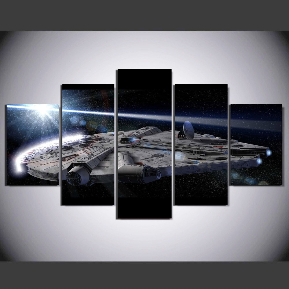 Online get cheap pictures star wars for Picture wall decor