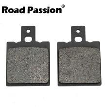 Road Passion Motorcycle Rear Brake Pads For DUCATI Multistrada 620 2005 2006 Dark 2003 05 695 2006 2007 2008 2009 800 2003 2004